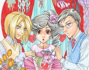 Princess Jellyfish Tea Party