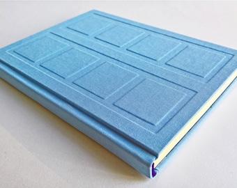 Blue/Purple Door Notebook Relief Cover