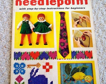 McCall's Needlepoint, Volume 2 with Step by Step Instructions for Beginners, Softcover Book