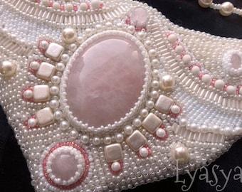 """Beaded necklace """"Cinderella"""""""