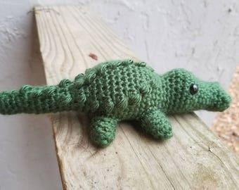 Alligator amigurumi