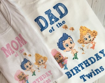 Bubble Guppies tee for mom or dad