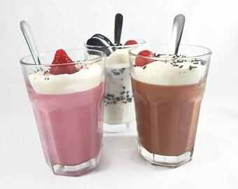 Handmade Scented Milk Shake Candle