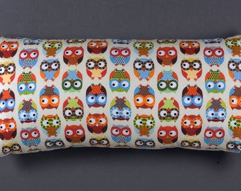 Cushion pillow with owls february finds vintage finds retro 50'sc