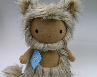 Cute Soft Toy, Stuffed Animal Monster, Penelope - Forest of Fru Series, Open Edition