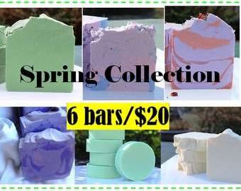 Spring Scents Soap Collection