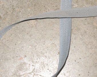 1 tape lifts grey 100% polyester 14 mm wide