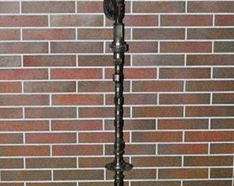 Industrial Floor Lamp. Steampunk Floor Lamp