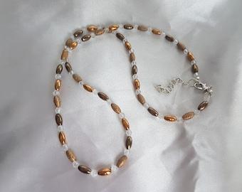 Dream - necklace an elegant bronze