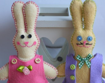 Super Cute Handmade Bunny Rabbits - Great Gift for Easter! 7 designs available