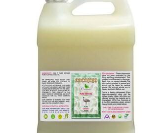 8 LB/ 1 Gal 100% Pure Australian  7X REFINED Emu Oil PHARMACEUTICAL Grade