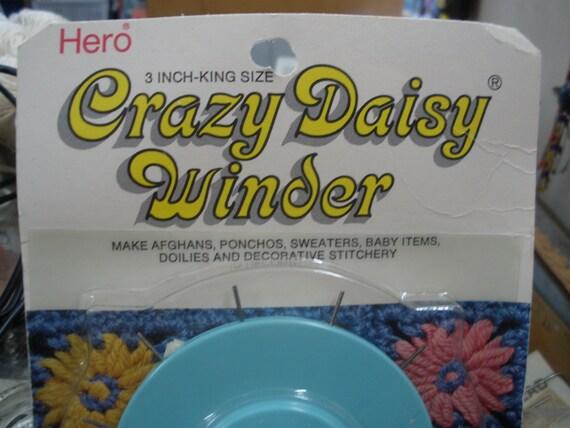 Scovill Hero Crazy Daisy Winder 3 Inch King Size Item No.