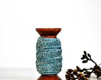 Glitter Velvet Ribbon {5m} Aqua Blue {9mm} Glitter Gift Wrap | Blue Glitter Ribbon | New Baby Ribbon | New Baby Boy | Baptism