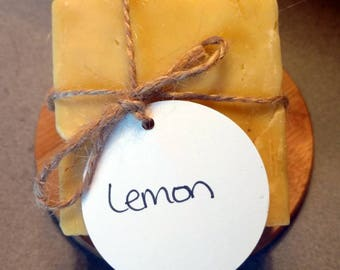 Lemon - Handmade Soap - Natural Soap - Cold Process Soap