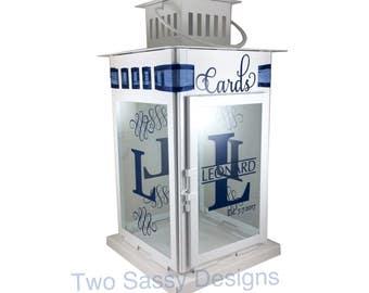 Wedding Card Box, Wedding Card Lantern, Wedding Card Holder, Personalized Wedding Card Box, Personalized Card Box, Wedding Card Holder