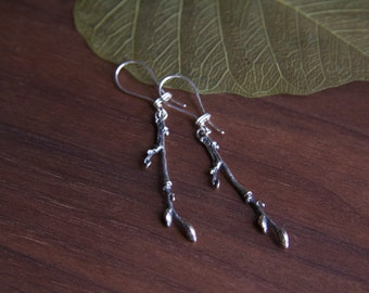 Elm tree Twig Earrings from Central Park NYC