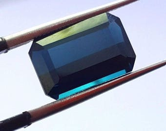 3.70 Carat Top Class Blue Indicolite Color Loose Gemstone Tourmaline@Afghani 13.5*9.5*7mm (8)