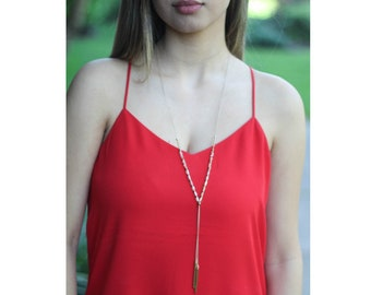 Bars Hanging Necklace