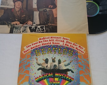 The Beatles Magical Mystery Tour 1967 England Includes 24 Page Book Original Insert