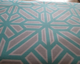 Quilting Weight Cotton Fabric Atrium Arbor by Joel Dewberry in Mint 1 yard