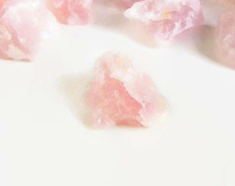 Rose Quartz Raw from Brazil · Crystals for Healing · Rose Quartz · Love Centered