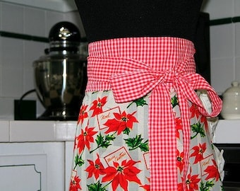 Girlie Girl Apron - Holiday Wishes
