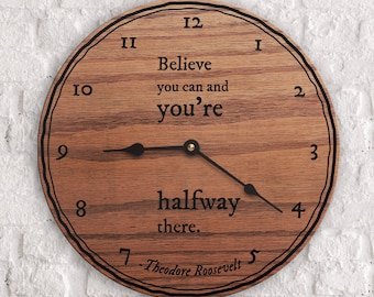Believe Quotes - Inspirational Quotes - Leadership Quotes - Believe You Can And You're Already There - Theodore Roosevelt