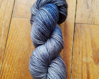 """WISE"" - Sport Weight hand dyed wool skein"
