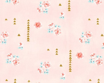 ROSEMILK in Cameo  dc6458 - BRAMBLEBERY RIDGE by Violet Craft - Michael Miller Fabrics - By the Yard