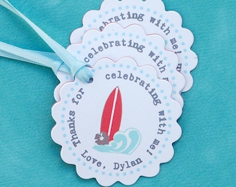 The Vintage Surf Collection - Fantastic Favor Tags with Bags from Mary Had a Little Party