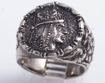 Tigran The Great V1Sterling Silver Ring