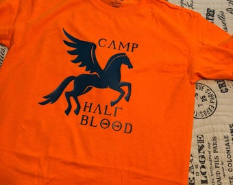 YOUTH or TODDLER Camp Half Blood Shirt Inspired by Percy Jackson and the Olympians T-shirt - Multiple Size and Color Options Available