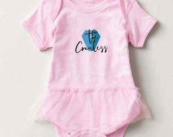 New York Housewives inspired Baby Girl Onesie - The Countess -\\