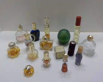 Fifteen (15) Vintage Avon Purse Size & Sample Colognes (5)