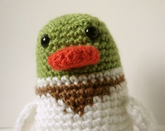 Crochet Amigurumi Duck Pattern