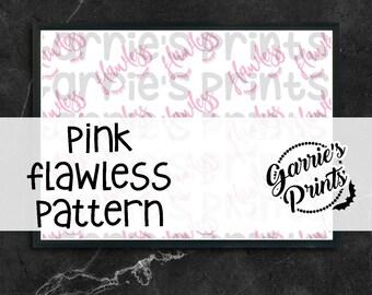 Printable | Pink Flawless Pattern |