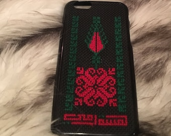 Hand stitched iphone cover by Lamsat Ummi