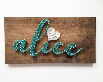 Name String Art - String Art - Personalized Gift - Name plaque