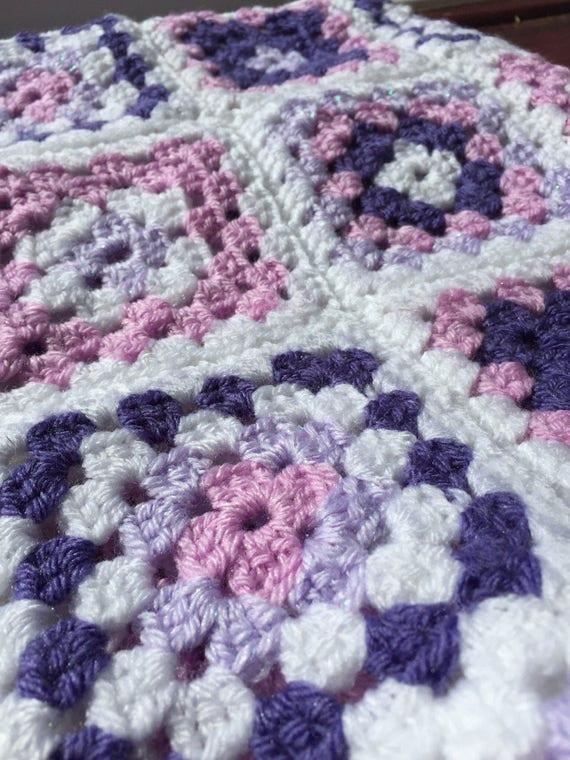 Baby-Oma-Decke Baby Oma Square Decke Oma Quadrate