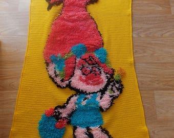 poppy troll carpet