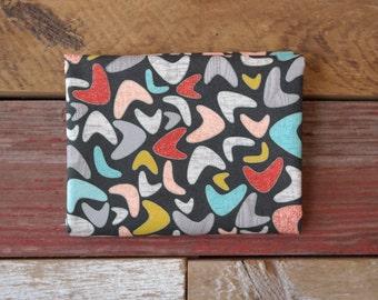MODA Ninja Cookies Yardage Geometric Boomerang Charcoal 30542 12 Jenn Ski