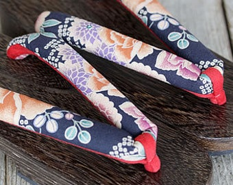 Japanese Traditional Sandal Geta 24cm Made of Bamboo