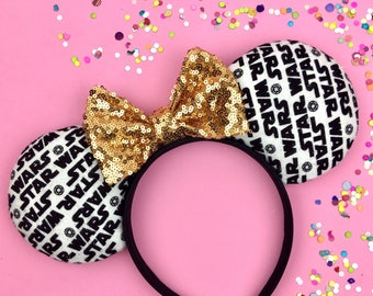 Disney inspired Star Wars Minnie Mouse ears