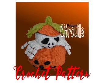 Pumpkin crochet tutorial