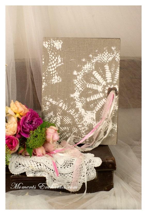 Wedding Guest Book Wedding Guestbook Boho Pink Wedding Keepsake Wedding Calligraphy  Gold Wedding Gift Wedding Guest Book Idea dreamcatcher