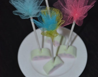 Cute cake pop sticks, Marshmallow Sticks, Cute Sticks, Cute cake pop sticks, Food Picks, Appetizer Picks, Finger food Picks lollipop sticks