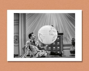 CHARLIE CHAPLIN - 'The Great Dictator', 1940 - Giclée/Photo print