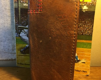 Iphone case - very old horsehide glove