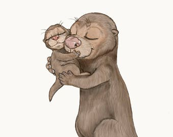 Love You Like No Otter Nursery Exclusive Print