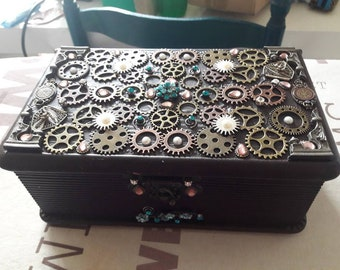 Steampunk #1 box